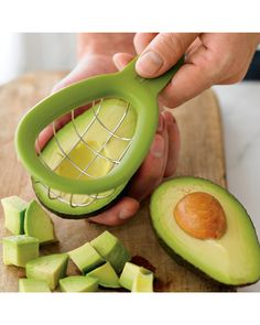 Fresh avocado cubes without the hassle! Get it here: http://www.bhg.com/shop/williams-sonoma-avocado-cuber-you-may-also-like-p505c1b2f82a71c80fdfd4610.html
