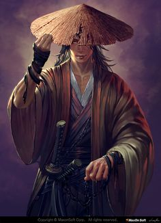 samurai, Donfoo . on ArtStation at https://www.artstation.com/artwork/nDJJo