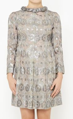 Longer and I'd truly love it: Marc by Marc Jacobs Green, Silver And Multicolor Dress | VAUNTE