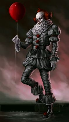 Pennywise The Dancing Clown Wallpapers Clown Horror, Arte Horror, Le Clown, Creepy Clown, Scary Movies, Horror Movies, Penny Wise Clown, Bill Skarsgard Pennywise, Scary Wallpaper