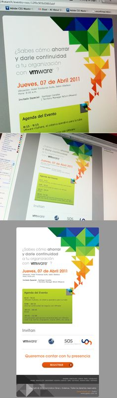 Mail Marketing Evento SOS - Email Design