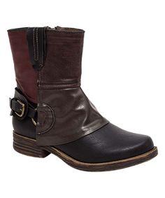 Black Amanda Boot