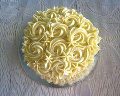 Rose Buttercream Cake - The Blue Cottage, Tagaytay