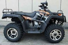 New 2014 Cgr Monster 300cc ATV Four Wheeler ATVs For Sale in Illinois. Features & Specifications:4 X 4Chrome WheelsFully AutoColors: White Camo, Black, Orange, RedDisplacement: 300ccCooling: water cooledstroke: 2.8*2.6 inMax speed: 43.5mile/hClimbing ability: 25degreeIgnition: C.D.IStarting system: ElectricBattery: 12V/9AhEngine oil: SAE15W/40SFClutch: AutomaticTransmission: forward + reverseDriveline: shaft-driveDriving wheel: Rear wheel driveSuspension,front/rear: Double…