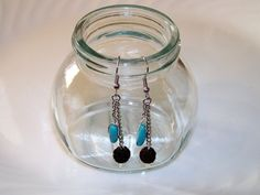AROMA THERAPY Earrings Essential Oil Diffuser by NonisEclecticShop, $12.50