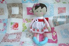 lovely little handmades: the isabella doll & quilt!!