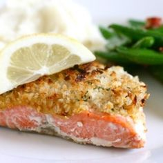 Panko Crusted Salmon - A quick an easy salmon preparation, and a new favorite in our house.