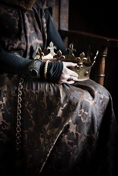 """James looked out upon his people and swallowed hard. """"Uneasy lies the head that wears a crown,"""" he whispered. Sage's head tilted toward him at the words. Her fingers slipped into his. """"Not always."""""""
