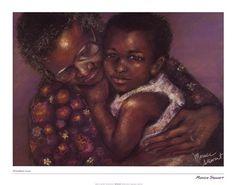 Grandma's Love by Monica Stewart art print