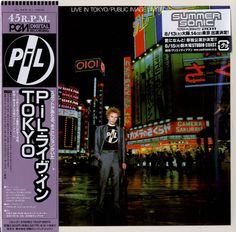 P.I.L. - Live In Tokyo (Limited Japanese SHCM-CD)