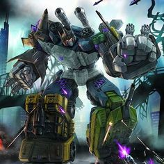 Combiner Wars Bruticus art! Worked on the pencils of this guy as well! Great…
