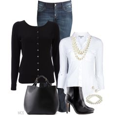 """""""Pearls"""" by mclaires on Polyvore"""