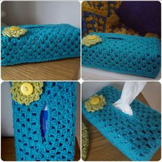 Hey, I found this really awesome Etsy listing at https://www.etsy.com/uk/listing/513078131/crocheted-tissue-box-cover-with-flower