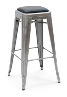 Now there's a bar stool with some chest hair