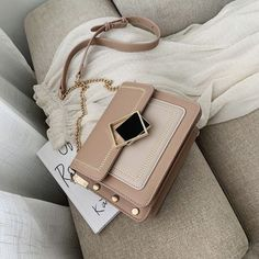 Chain Pu Leather Crossbody Bags For Women 2019 Small Shoulder Messenger Bag Special Lock Design Female Travel Handbags - Green Source by CreativeDreamscape bags Travel Handbags, Fashion Handbags, Purses And Handbags, Fashion Bags, Cheap Handbags, Cheap Purses, Popular Handbags, Cheap Bags, Big Purses
