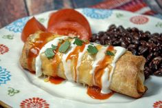 If you master one Mexican dish, make it these Blue Ribbon winning Chimichangas! With melty cheese and a crunchy shell, these chimichangas are super easy with lots of delicious flavors. Mexican Dishes, Mexican Food Recipes, Beef Recipes, Cooking Recipes, Ethnic Recipes, Mexican Meals, Mexican Cooking, Cabbage Recipes, Rice Recipes