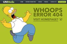 instantShift - 404 Error Page of onsydney.com.au