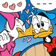 Disney's Donald & Daisy:) Walt Disney, Disney Word, Disney Duck, Disney Couples, Disney Mickey, Mickey Mouse Images, Mickey Mouse Cartoon, Disney Best Friends, Mickey And Friends