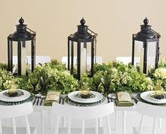 -Greenery Runners and Table Decor- » Alexan Events | Denver Wedding Planners, Colorado Wedding and Event Planning