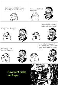 Dad Always Troll Me When I Am Hungry! - Posted in Funny, Troll comics and LOL Images - LOL Heaven