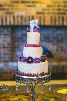 優雅な素朴な紫結婚式|コンセプト写真