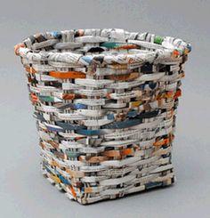 1000 images about cosas reciclables on pinterest - Manualidades de papel reciclado ...