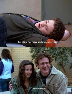 Jason Segel breaks and makes my heart in Freaks and Geeks.