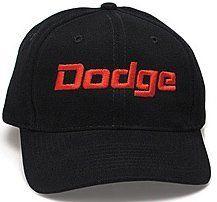 DODGE Classic Automotive Fine Embroidered Hat Cap - Solid Black A&E Designs. $19.99