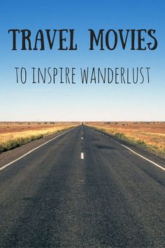 he best travel movies and TV shows of all time. This ultimate list of the best movies about travel is sure to inspire wanderlust! Travel Articles, Travel Advice, Travel Quotes, Travel Tips, Travel Essentials, Travel Ideas, Wanderlust Travel, Wanderlust Quotes, Backpacker