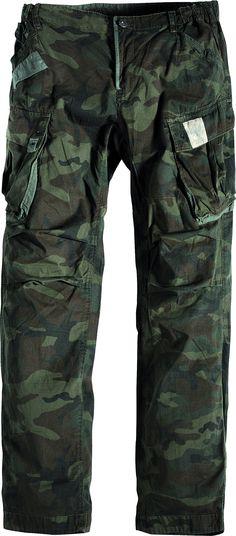 [img-9779-left-thickbox_default] Pantalon allsize Gamme Réplika composé de 100 % Coton léger Coloris Amy imprimé Poches cargos