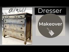 Meubles de peinture à la craie avec un mélange facile et des transferts IOD! - YouTube Using Chalk Paint, Thrift Store Finds, Chalk Paint Furniture, Annie Sloan, Thrifting, Repurposed, Youtube, Easy, Painting