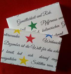 """Geschenkbox """"Winterwunder"""" von Textatelier PM auf DaWanda.com"""
