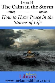 Episode The Calm in the Storm Youth Lessons, Fhe Lessons, Primary Lessons, Visiting Teaching, Teaching Tips, Lds Sunday School Lessons, Lds Blogs, Walk In The Light, Family Home Evening