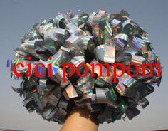 "2 pom pom cheerleader pom pom colorful holographic silver 1,000*3/4"" wide streamers 6"" sizes - http://sportsgearmall.com/?product=2-pom-pom-cheerleader-pom-pom-colorful-holographic-silver-1-000-3-4-wide-streamers-6-sizes"