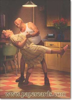 Couple In Kitchen/Dance