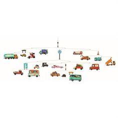 """Riesen-Mobile """"Traffic"""" von Djeco, ein absolutes MUSS für alle kleinen und großen Auto-Fans!"""