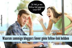 Hoe maak je links in je Blogger blogroll no follow?