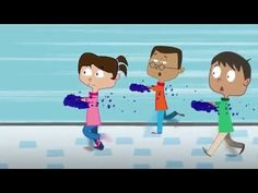 Hilarious animated video that shows kids how to stop germs by washing their hands.