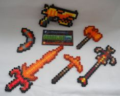 Terraria Boss Summoning Items Set with by CorneliusPixelCrafts