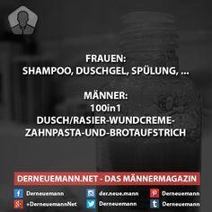 Frauen vs. Männer #derneuemann #humor #lustig #spaß #sprüche