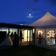 Our marquee entrance at night Bride Bouquets, Bridesmaid Bouquet, Marquee Wedding, Wedding Table, Wedding Flower Arrangements, Wedding Flowers, Gypsophila Wedding, Tin Shed, Rustic Style