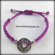 pulsera corazón morada Bracelets, Jewelry, Fashion, Teacher Gifts, Originals, Fascinators, Bangle Bracelets, Moda, Jewlery