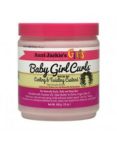 Aunt Jackie's Child Girl- Curling & Twisting Custard (Styling) Curling, Hair Lotion, Custard, Wavy Hair, Naturally Curly, Aunt, Shea Butter, Coconut, Child