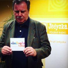 #RADIO #SinfoniaVIVA  Gościem Marii Szabłowskiej w Muzycznej Jedynce w Programie 1 Polskiego Radia był Tomasz Radziwonowicz - założyciel i dyrygent orkiestry Sinfonia VIVA. #artCONNECTIONmusic