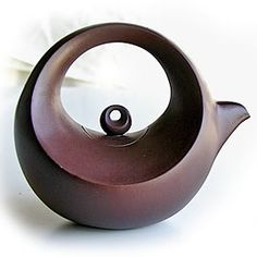 teapot variation - super cool crescent moon shape