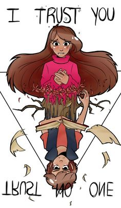 Gravity falls Mabel I trust you (sorry I don't remember the artist but I got this on tumblr)