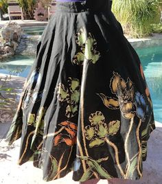 another great hand painted skirt