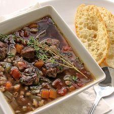 beefless barley soup