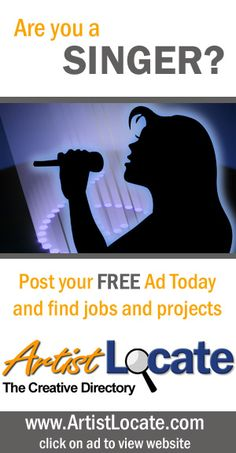 Creative Jobs, Free Ads, Find A Job, Programming, Musicians, Acting, How To Make Money, Singing, Website