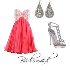 bridesmaid outfit themarriedapp.com hearted <3
